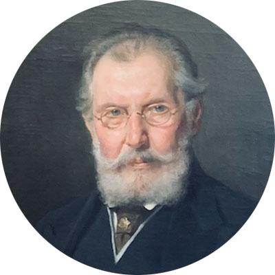 Wilhelm Exner Gemälde rund